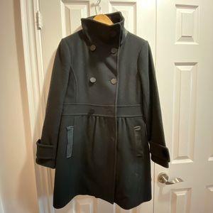 Aritzia wilfred cashmere and virgin wool coat